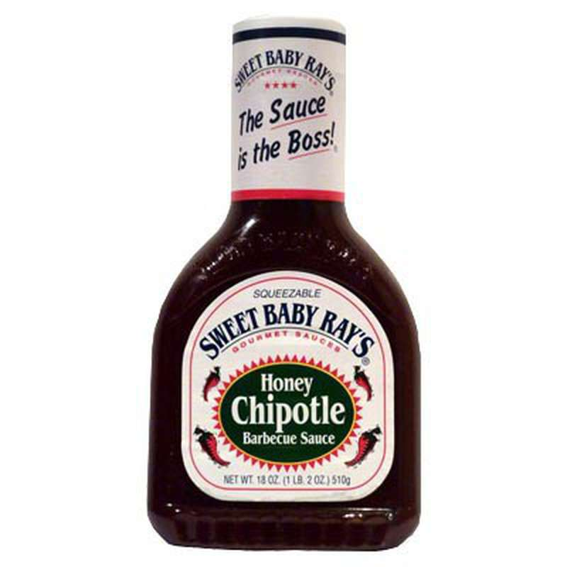 Sauce barbecue miel et chipotle, Sweet baby ray's (510 g)