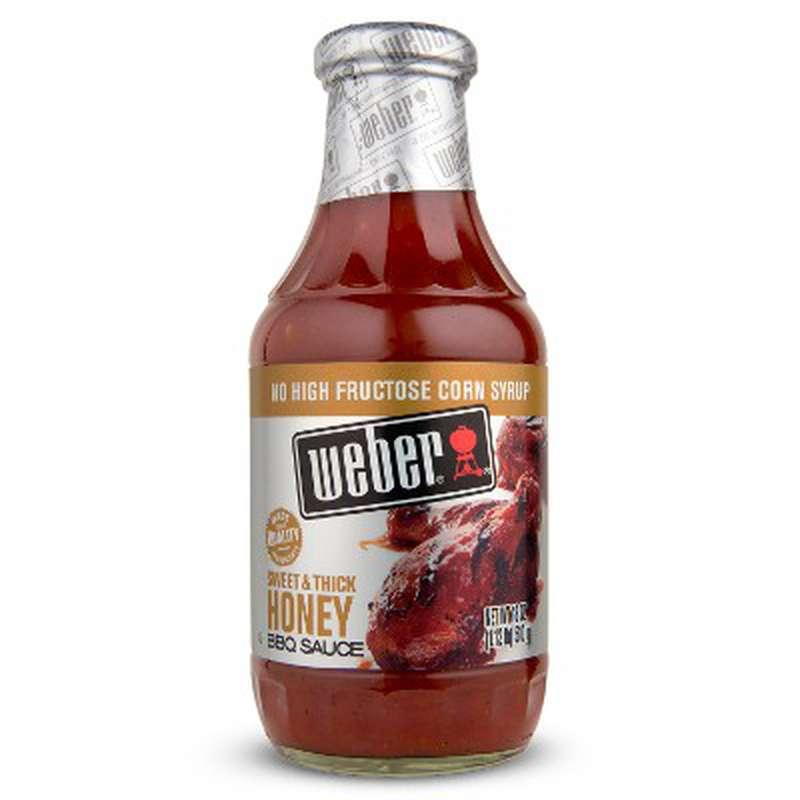 Sauce BBQ miel, Webber (510 g)