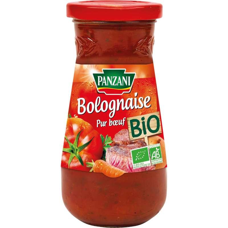 Sauce bolognaise BIO, Panzani (390 g)