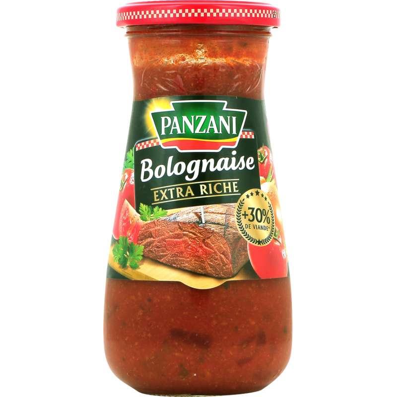 Sauce bolognaise extra riche, Panzani (400 g)