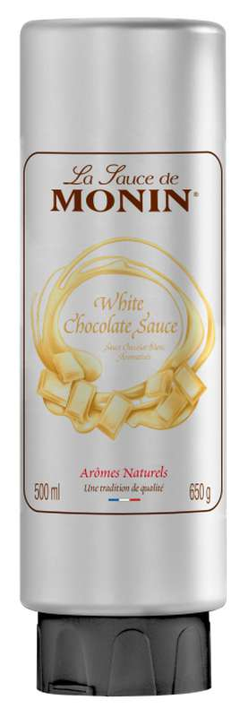 Sauce Chocolat Blanc, Monin (50 cl)