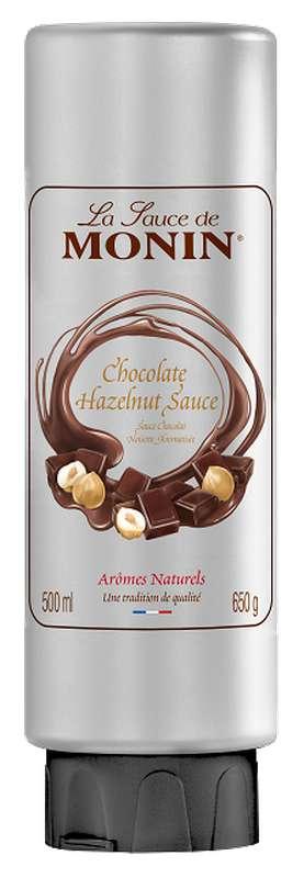 Sauce Chocolat Noisette, Monin (50 cl)
