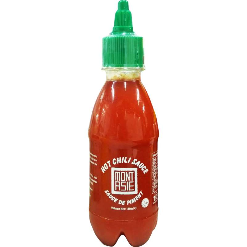 Sauce de piment Sriracha, Mont Asie (180 ml)