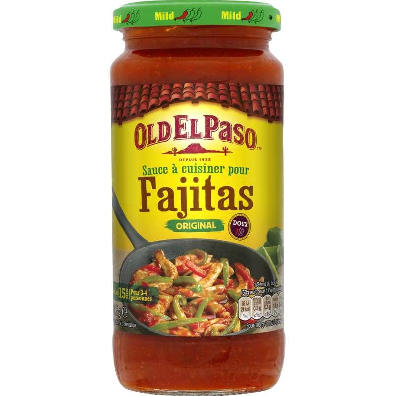 Sauce à cuisiner pour Fajitas, Old el Paso (395 g)