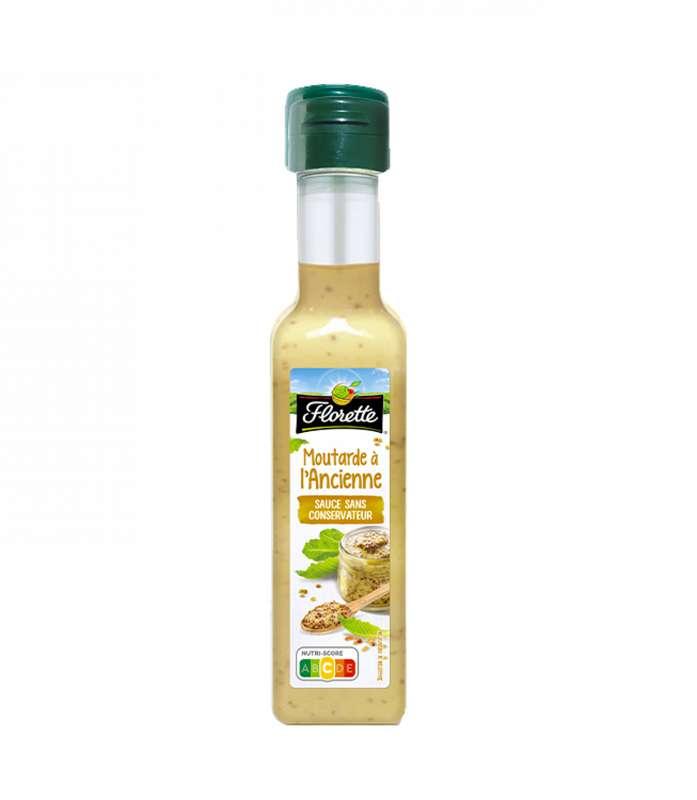 Sauce moutarde à l'ancienne, Florette (175 ml)