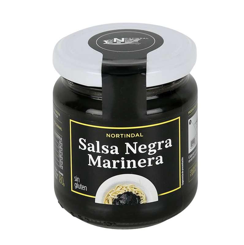 Sauce noire marinière, Nortindal (180 g)