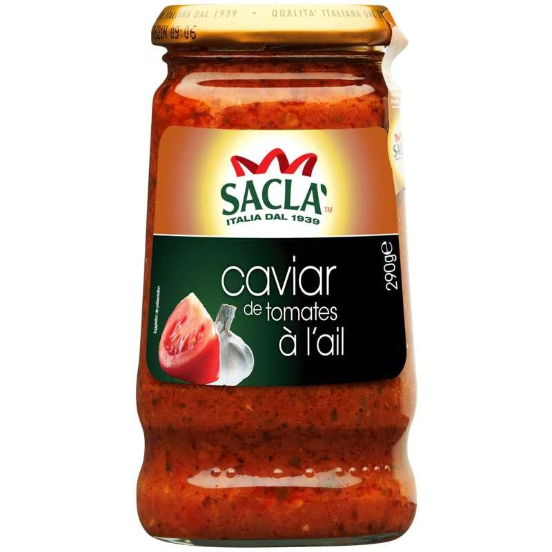 Sauce pastagusto caviar de tomates à l'ail, Sacla (290 g)