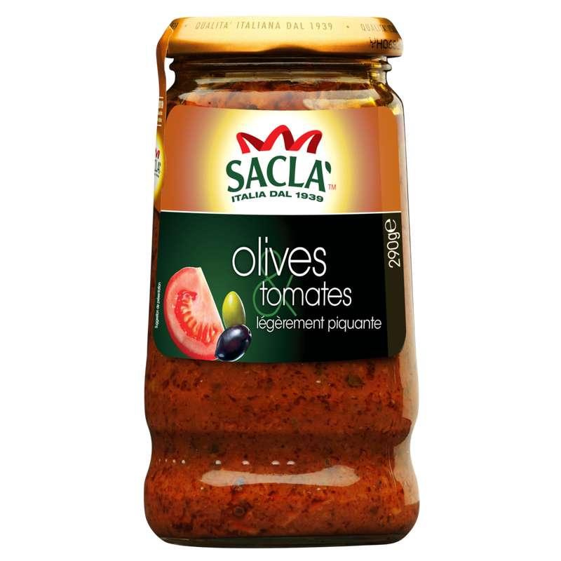 Sauce pastagusto olives et tomates, Sacla (290 g)