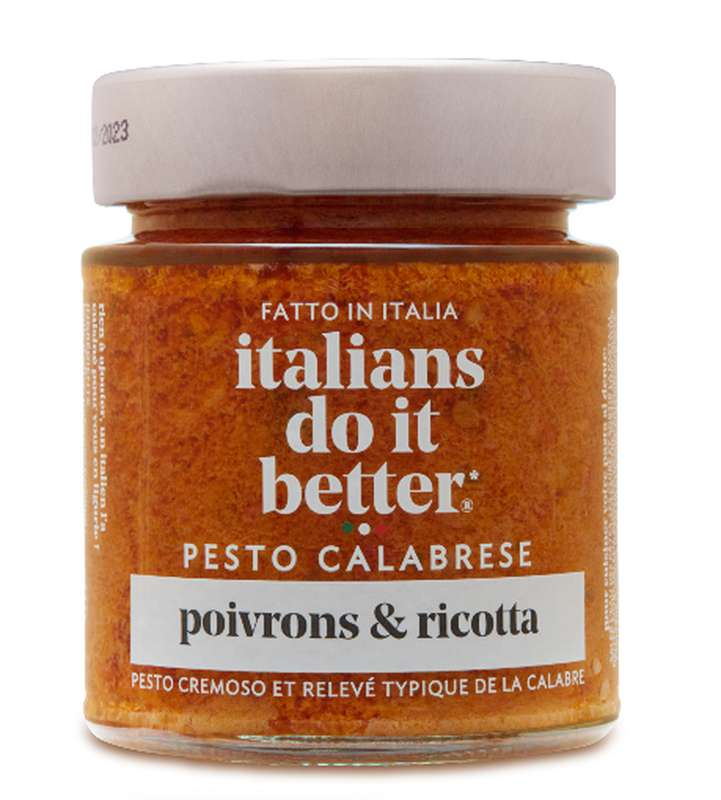 Sauce pesto Calabrese, Italians Do It Better (135 g)