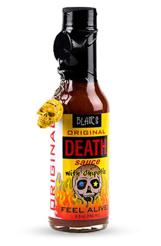 "Sauce piquante ""original death"", Blair's (15 cl)"