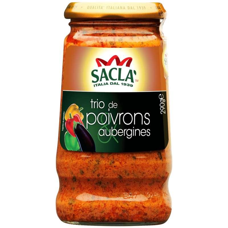 Sauce poivrons aubergines, Sacla (290 g)