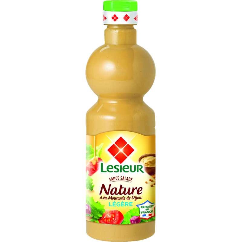 Sauce salade extra légère moutarde de Dijon, Lesieur (500 ml)