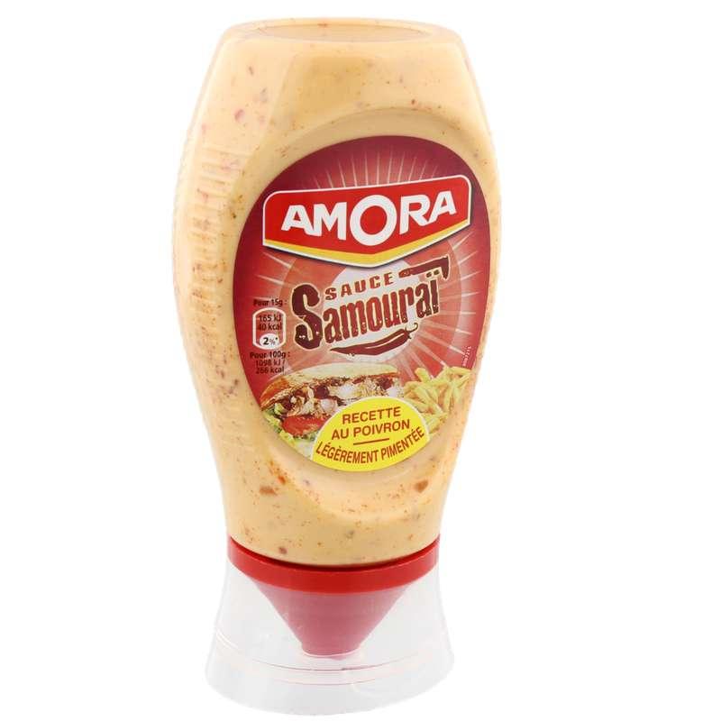 Sauce samouraï flacon souple, Amora (255 g)