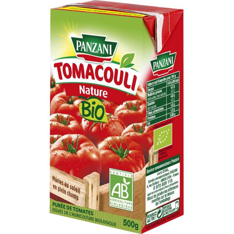 Tomacouli nature BIO, Panzani (500 g)