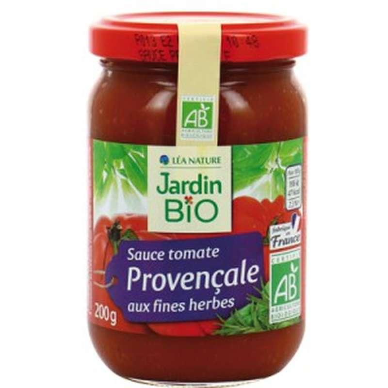 Sauce tomate Provençale aux fines herbes BIO, Jardin Bio (200 g)