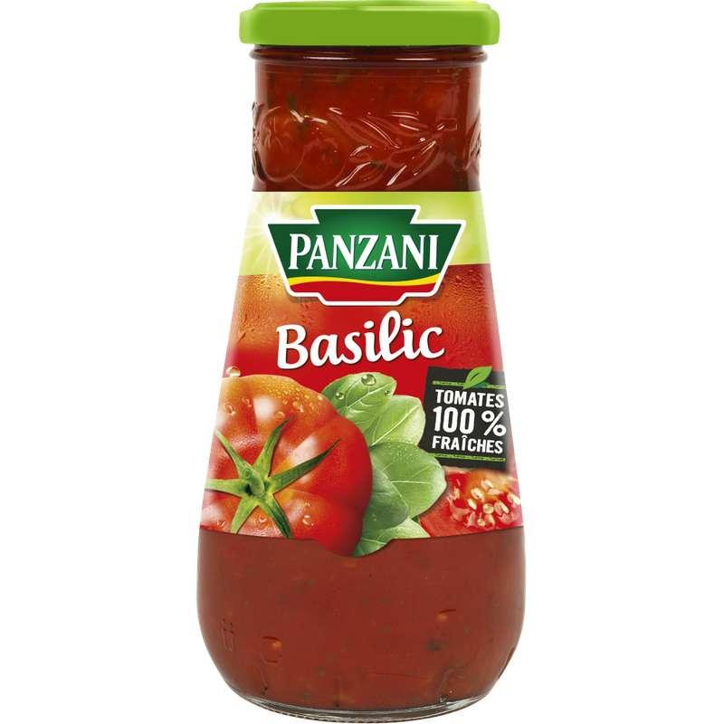 Sauce tomate au basilic, Panzani (600 g)