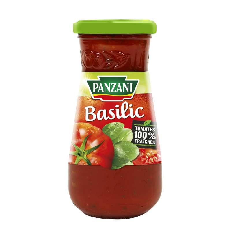 Sauce tomate au basilic, Panzani (400 g)