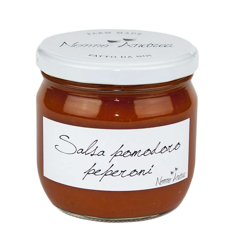 Sauce tomate aux poivrons, Nonno Andrea (320 g)