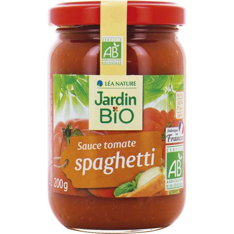 Sauce tomate pour spaghetti BIO, Jardin Bio (200 g)