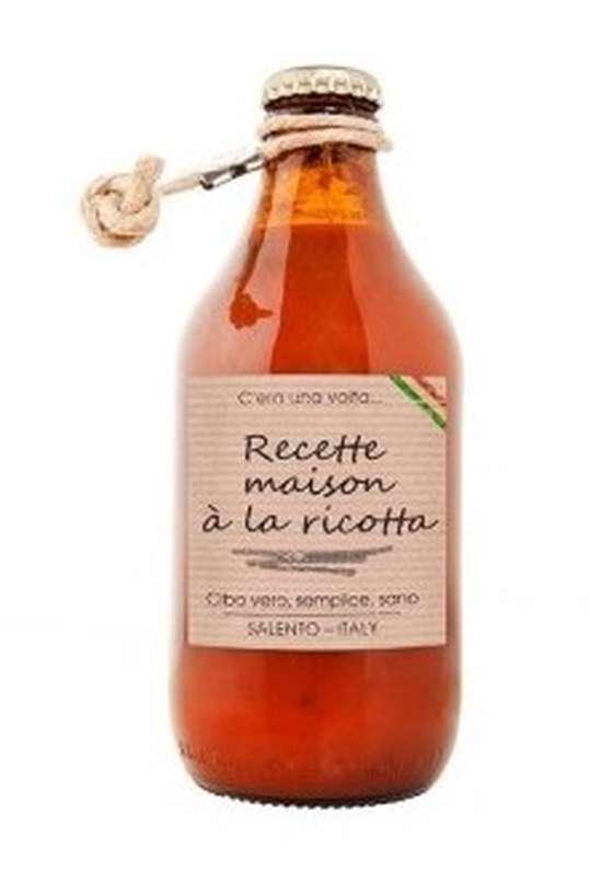 Sauce tomate Recette Maison à la ricotta, Perche Ci Credo (330 g)