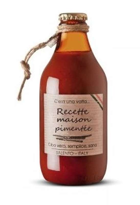 Sauce tomate Recette Maison Pimentée, Perche Ci Credo (330 g)