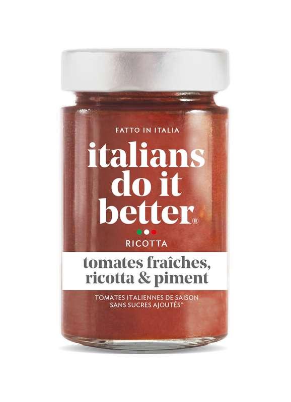 Sauce Tomates Ricotta, Italians Do It Better (190 g)