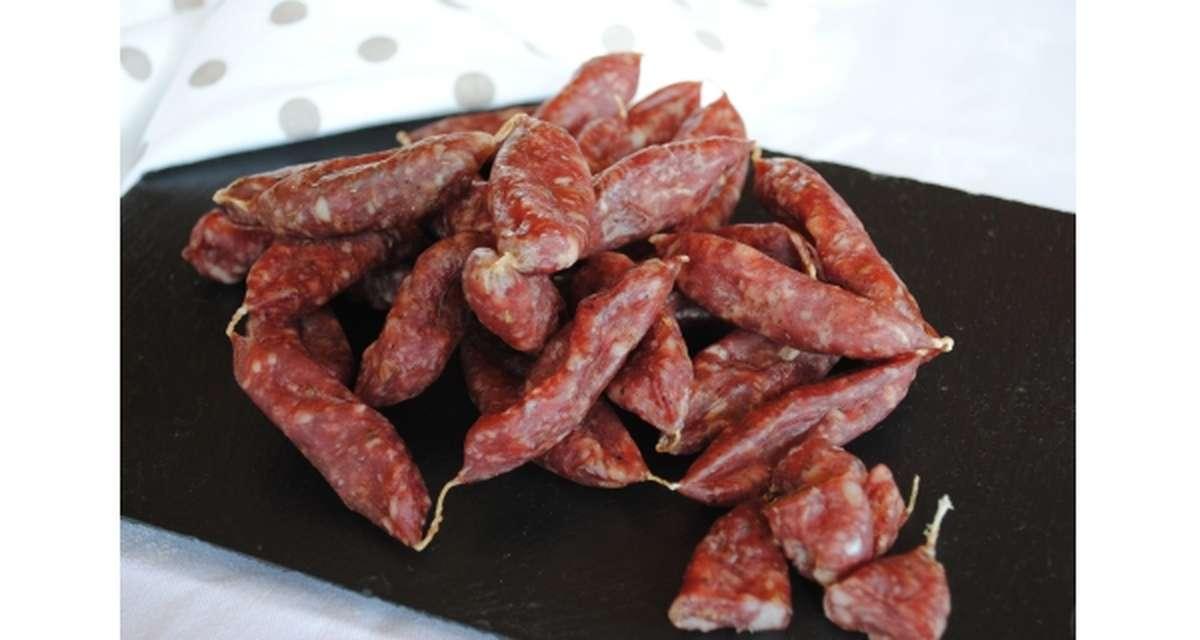 Mini saucisses sèches au Vouvray, Hardouin (200 g)