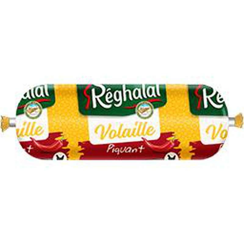 Saucisson de volaille piquant, Reghalal (500 g)
