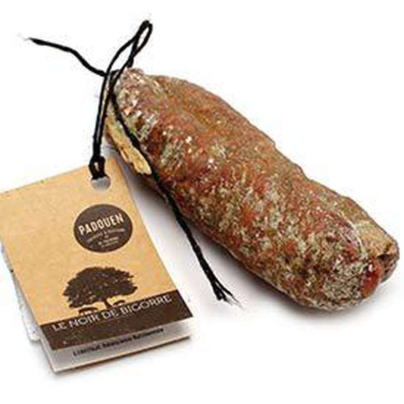Saucisson Noir de Bigorre, Padouen (250 g)