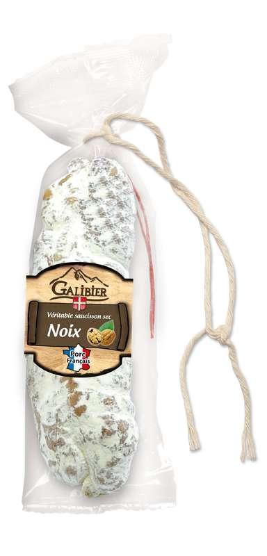 Saucisson sec aux noix, Galibier (200 g)