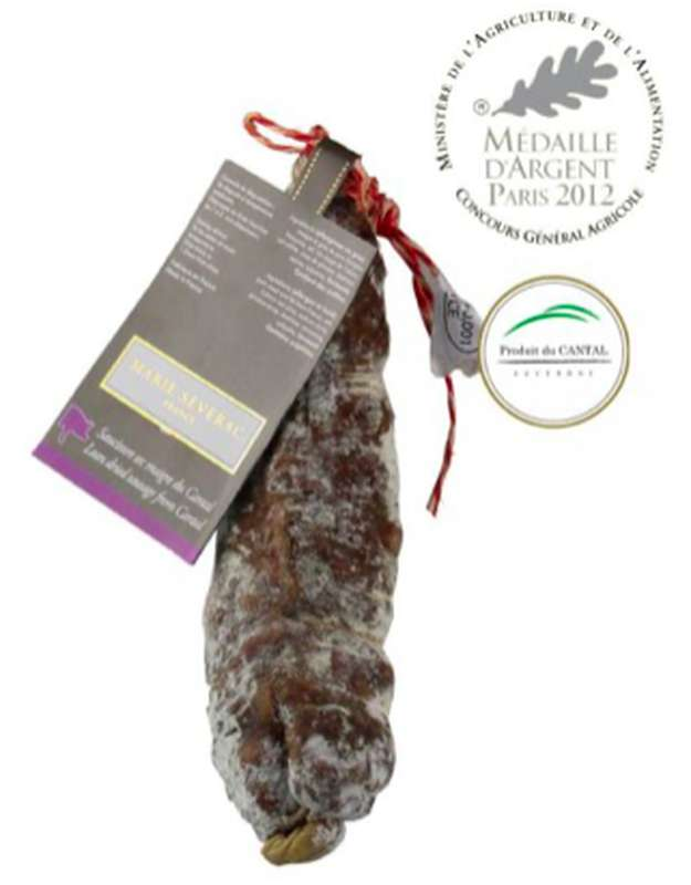 Saucisson sec maigre du Cantal, Marie Severac (environ 280 g)
