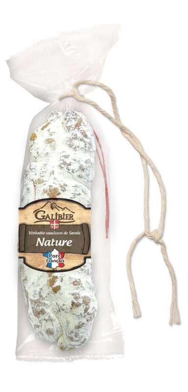 Saucisson sec nature, Galibier (200 g)