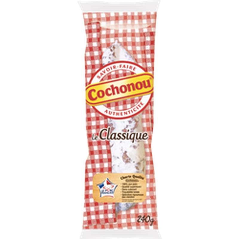 Saucisson sec pur porc Le Classique, Cochonou (240 g)