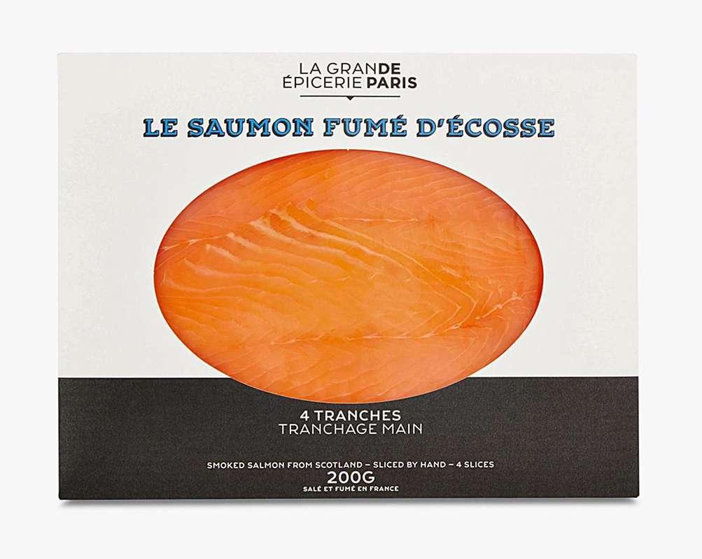 Saumon fumé d'Écosse, La Grande Epicerie de Paris (x 4 tranches, 200 g)