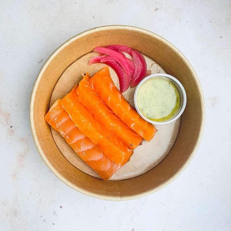 Saumon Gravlax (110 g)