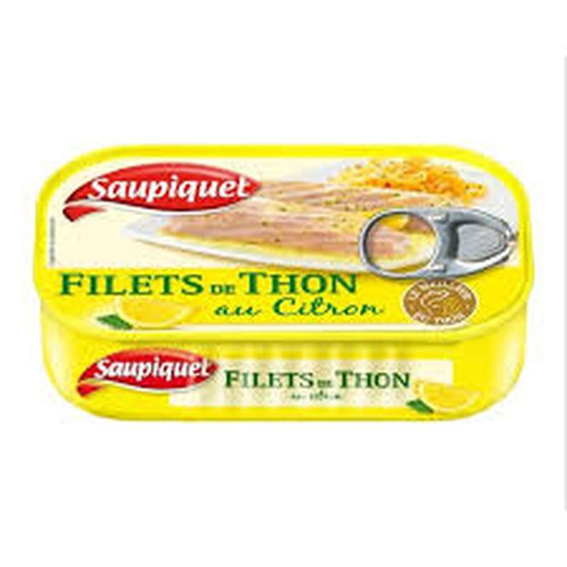 Filet de Thon au Citron, Saupiquet (115 g)
