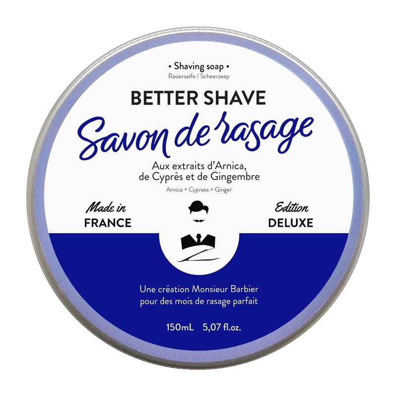 Savon de rasage, Monsieur Barbier (150 ml)