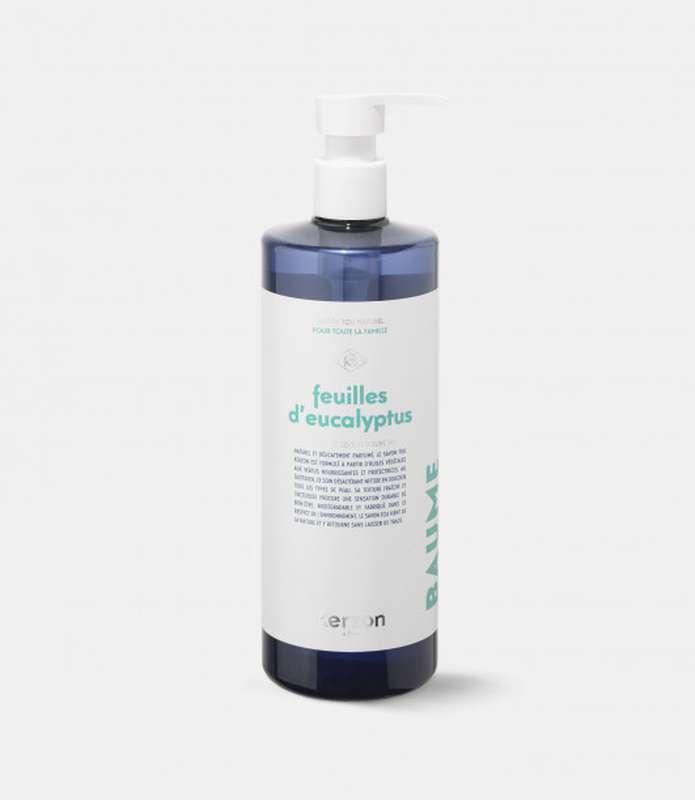 Savon Liquide Feuilles d'Eucalyptus, Kerzon (500 ml)
