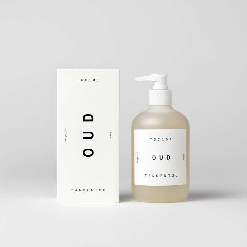 Savon naturel mains parfum oud, Tangent GC (350 ml)