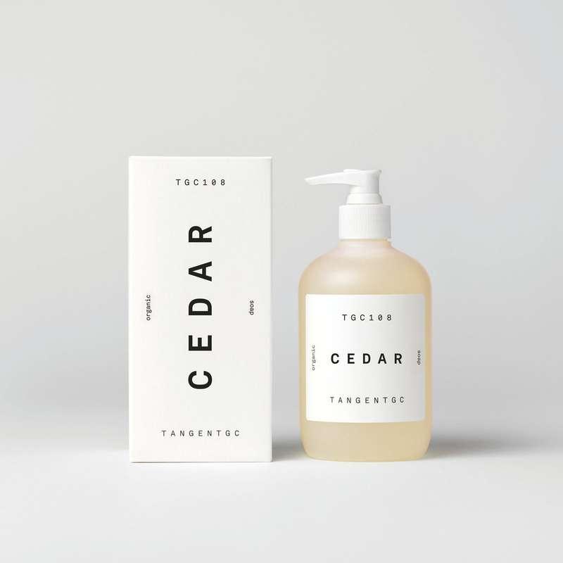 Savon naturel mains parfum Cèdre, Tangent GC (350 ml)