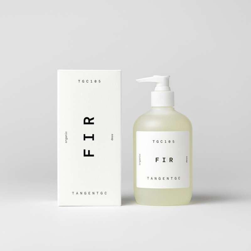 Savon naturel mains parfum Sapin, Tangent GC (350 ml)