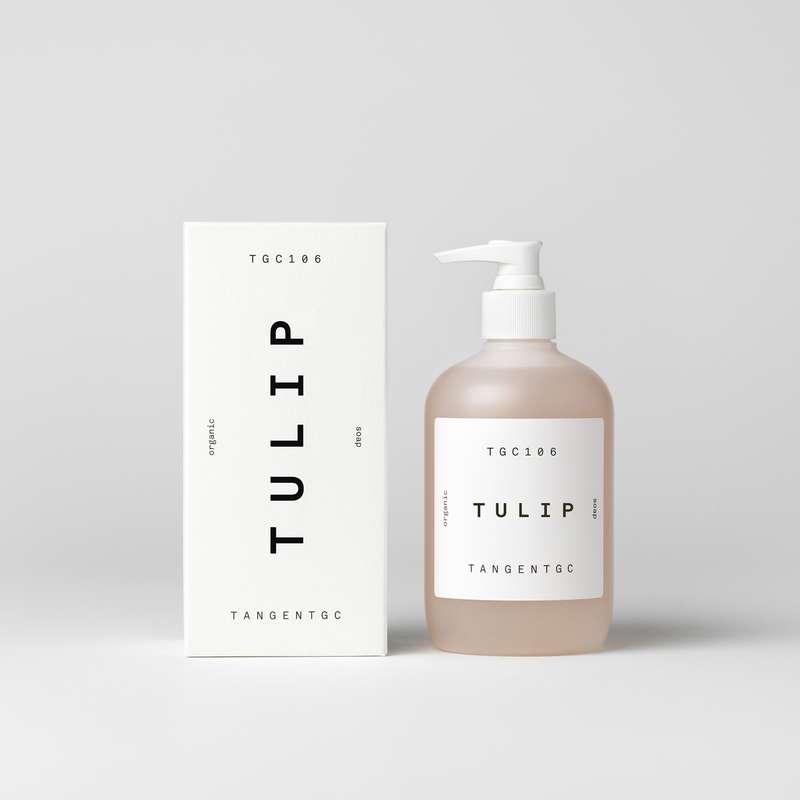 Savon naturel mains parfum Tulipe, Tangent GC (350 ml)