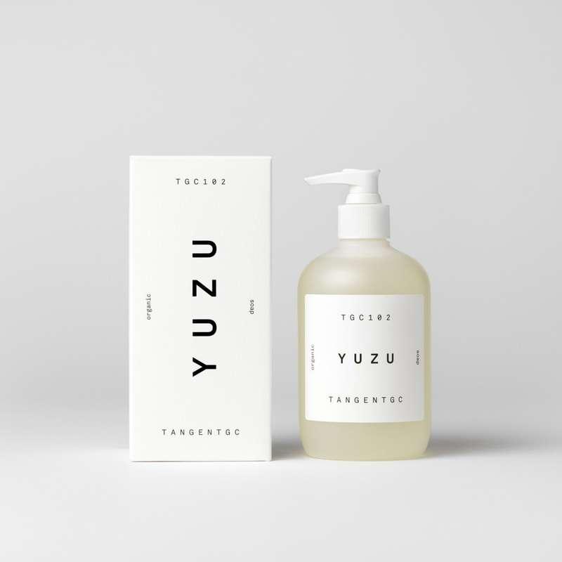 Savon naturel mains parfum Yuzu, Tangent GC (350 ml)