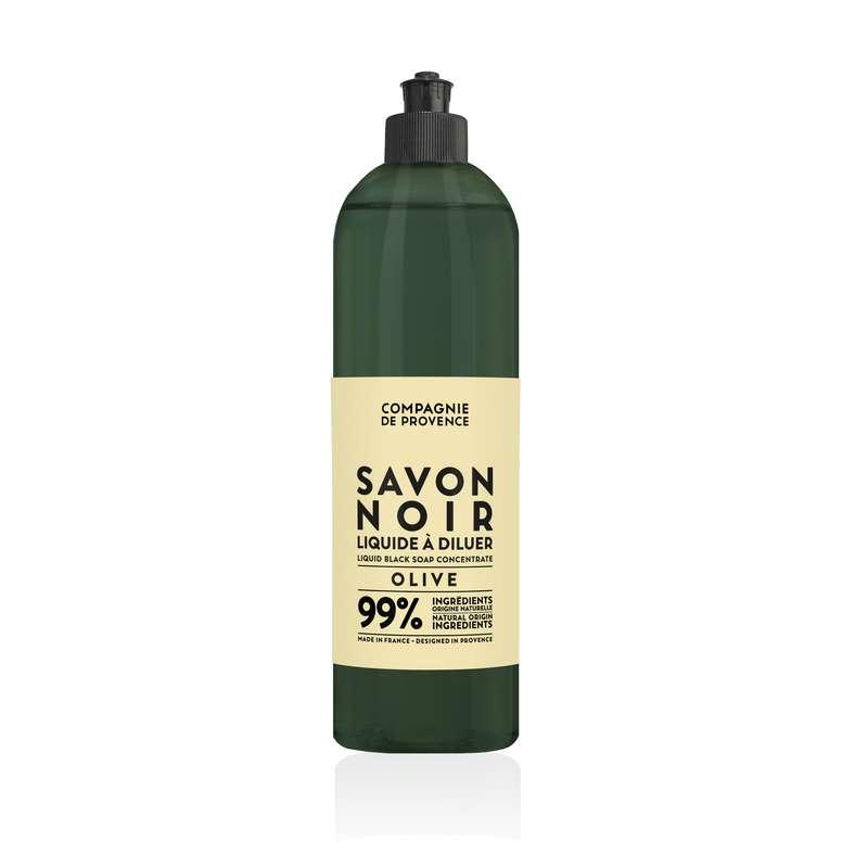 Savon noir liquide à diluer, Compagnie de Provence (500 ml)