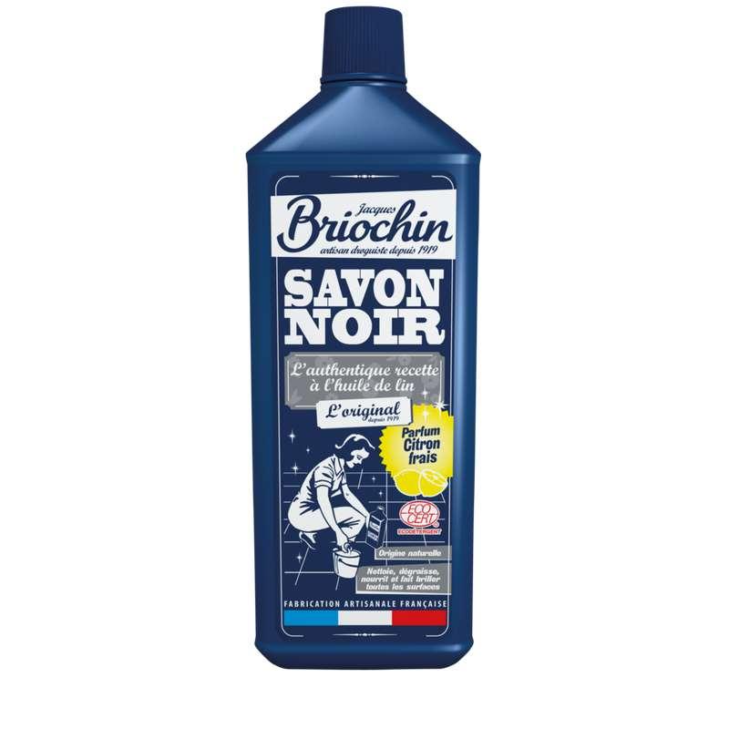 Savon noir liquide parfum citron frais, Briochin (1 L)