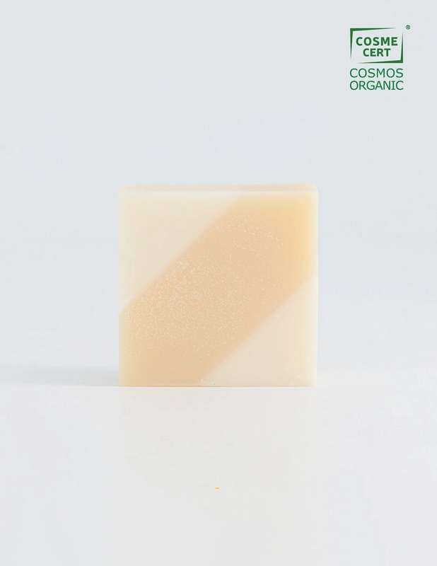 Savon surgras Diagonale BIO, Ciment (100 g)
