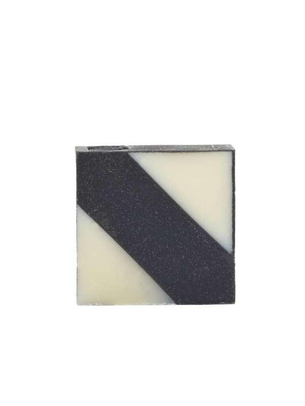 Savon surgras Diagonale Grise, Ciment (100 g)