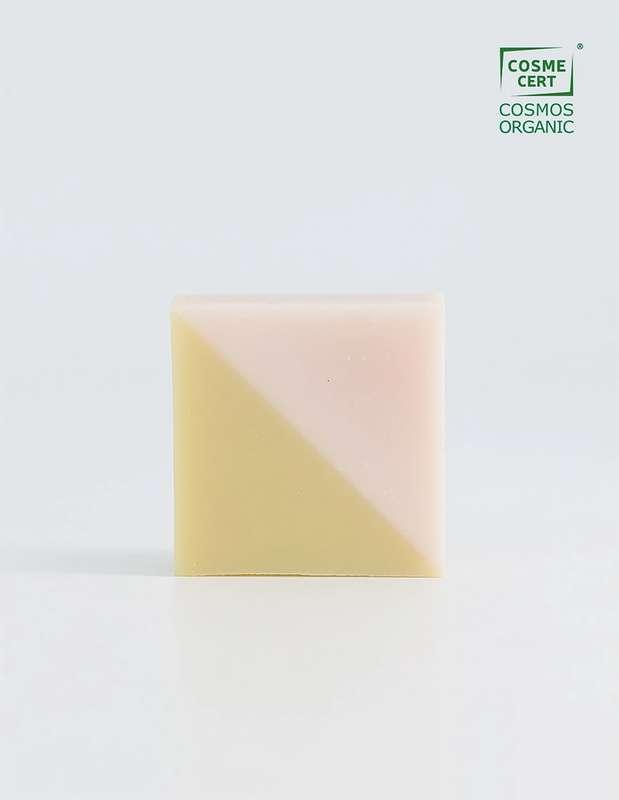 Savon surgras Triangle BIO, Ciment (100 g)