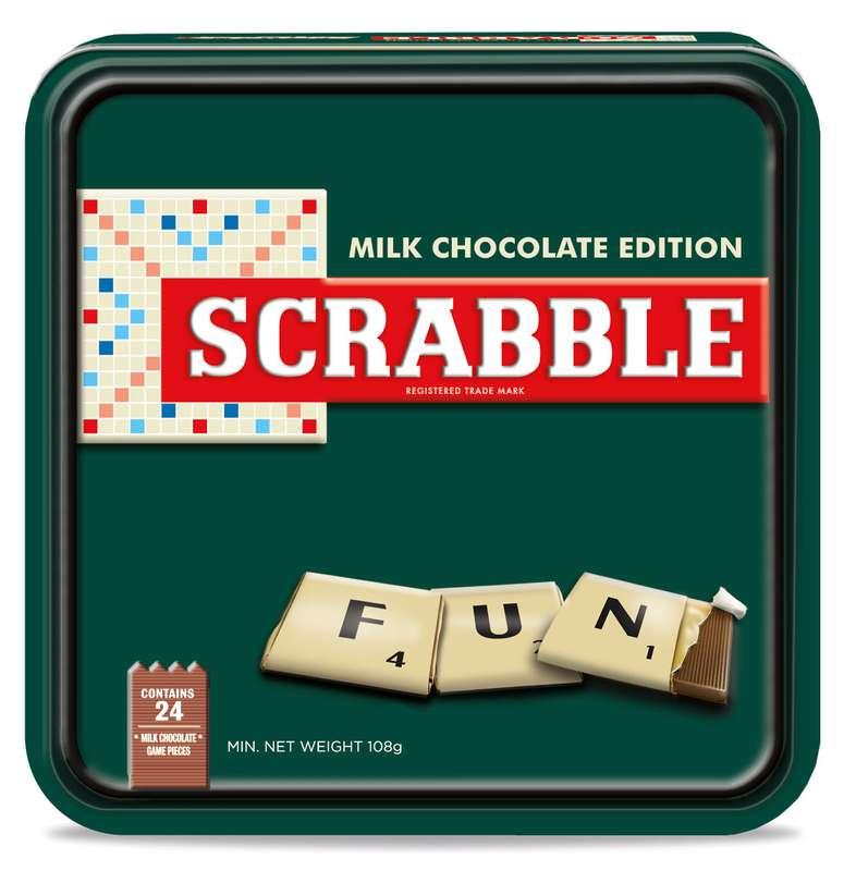 Scrabble édition chocolat, Chocosuisse (108 g)