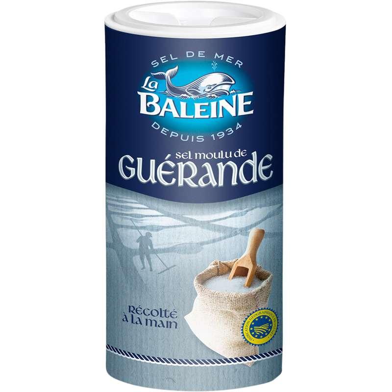 Sel blanc fin de Guérande, La Baleine (250 g)